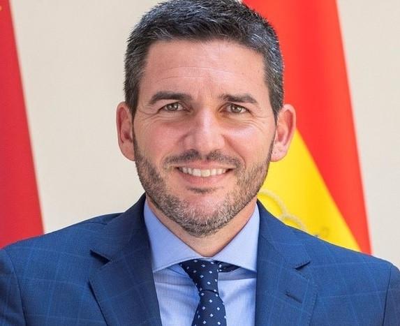 Antonio Luengo consejero de Agua, Agricultura, Ganaderu00eda, Pesca y Medio Ambiente de la Regiu00f3n de Murcia